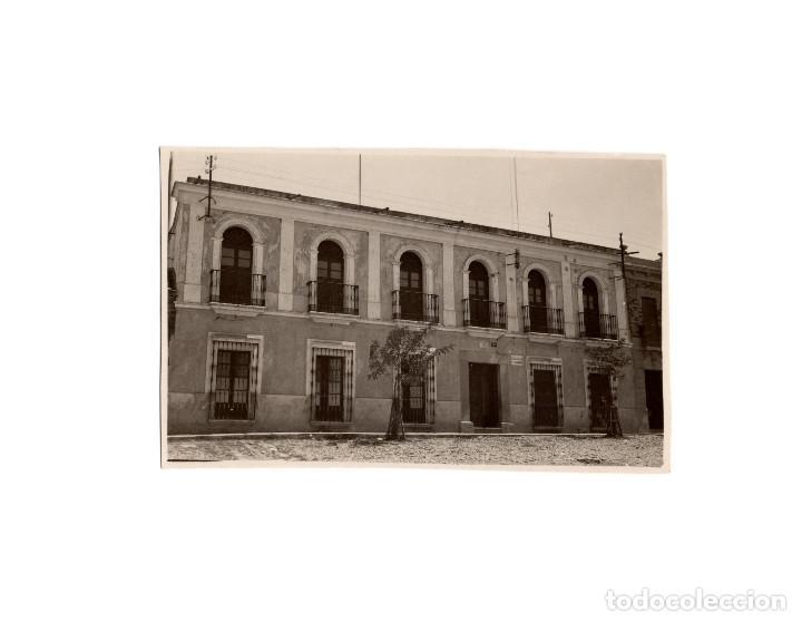 DON BENITO.(BADAJOZ).- COLEGIO DE SEGUNDA ENSEÑANZA. SAN JOSÉ. POSTAL FOTOGRÁFICA. (Postales - España - Extremadura Antigua (hasta 1939))