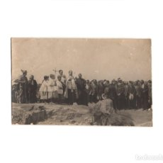 Postales: SAN VICENTE DE ALCÁNTARA.(BADAJOZ).- INAGURACIÓN DE LAS OBRAS DE TRAIDA DE AGUAS Y ALCANTARILLADO.. Lote 171094295