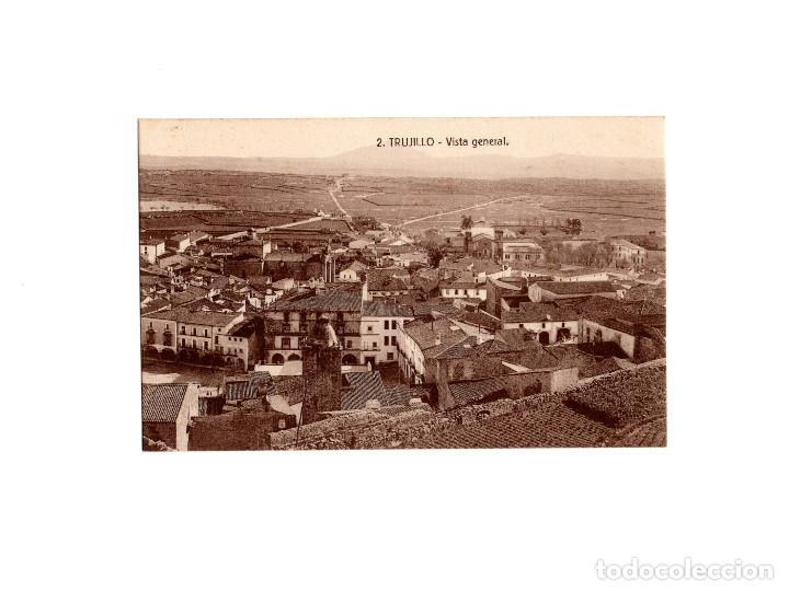 TRUJILLO.(CÁCERES).- VISTA GENERAL. (Postales - España - Extremadura Antigua (hasta 1939))