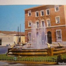 Postales: POSTAL BADAJOZ - FUENTE LUMINOSA-CIRCULADA. Lote 171440449