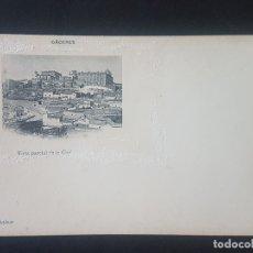 Postales: CACERES VISTA PARCIAL DE LA CIUDAD ED. FOTO ECHALUCE SIN CIRCULAR REVERSO SIN DIVIDIR. Lote 171595450