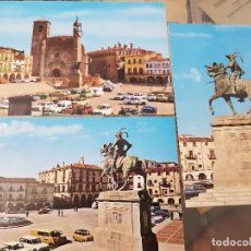 Postales: ANTIGUAS POSTALES TRUJILLO CACERES ARRIBAS. Lote 171675902