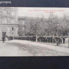Postales: VILLAFRANCA DE LOS BARROS BADAJOZ COLEGIO DE SAN JOSE SALIDA DE PASEO FOTO L. SAUS VANDERMAN MADRID. Lote 171745618