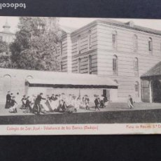 Postales: VILLAFRANCA DE LOS BARROS BADAJOZ COLEGIO DE SAN JOSE PATIO RECREO 3ª D FOTO L SAUS VANDERMAN MADRID. Lote 171745870
