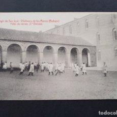 Postales: VILLAFRANCA DE LOS BARROS BADAJOZ COLEGIO DE SAN JOSE PATIO RECREO 2ª D FOTO L SAUS VANDERMAN MADRID. Lote 171745898