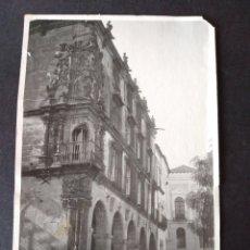 Postales: TRUJILLO CACERES PALACIO FOTOGRAFIA TAMAÑO POSTAL HACIA 1920. Lote 171748610