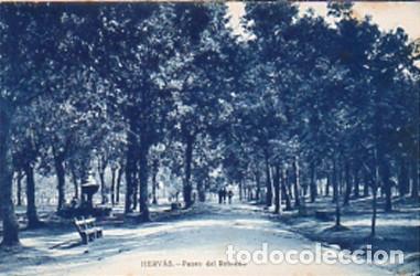 HERVÁS (CÁCERES) - PASEO DEL ROBLEDO - EDICIÓN LIBRERIA RONCERO - SIN CIRCULAR (Postales - España - Extremadura Antigua (hasta 1939))