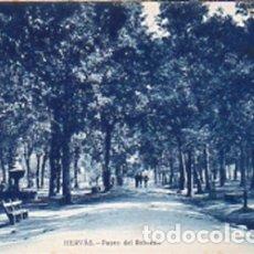 Postales: HERVÁS (CÁCERES) - PASEO DEL ROBLEDO - EDICIÓN LIBRERIA RONCERO - SIN CIRCULAR. Lote 172304503