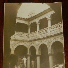 Postales: FOTOGRAFIA DE ORELLANA LA VIEJA, BADAJOZ, CLAUSTRO DEL PALACIO, POSIBLEMENTE DURANTE LA GUERRA CIVIL. Lote 172994358