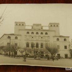 Postales: FOTOGRAFIA DE BADAJOZ, TEATRO LOPEZ DE AYALA, FOTO PESINI, MIDE 17,5 X 11,5 CMS.. Lote 172995113