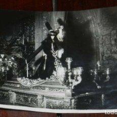 Postales: FOTOGRAFIA DE NUESTRO SEÑOR JESUS DE LOS PASOS, PATRON DE OLIVENZA, BADAJOZ, FOTO GIL, MIDE 17,5 X 1. Lote 172995533