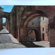 Cartes Postales: CÁCERES . POSTAL NO.5, ARCOS DE LA ESTRELLA, EL ADARVE Y CORREGIDOR. EDITA: ED. GARCIA GARRABELLA. Lote 173962189