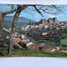Cartes Postales: GUADALUPE (CÁCERES) POSTAL NO.11 VISTA GENERAL DEL MONASTERIO DESDE LA CARRETERA DE MADRID. Lote 174003595
