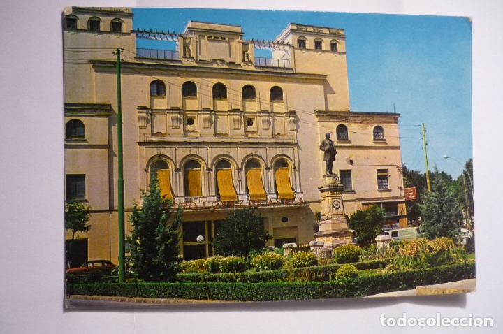 POSTAL BADAJOZ-PL.MINAYO - CIRCULADA (Postales - España - Extremadura Moderna (desde 1940))