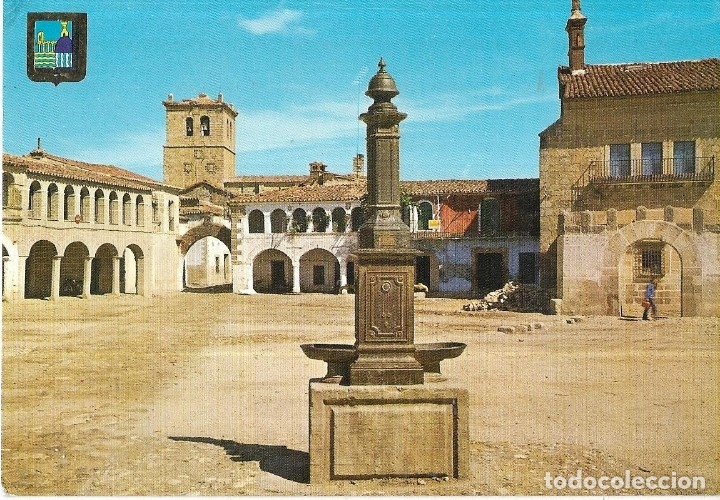== Z1535 - POSTAL - GARROVILLAS - PLAZA (Postales - España - Extremadura Moderna (desde 1940))