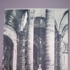 Postales: POSTAL 17 OLIVENZA, INTERIOR DE STA MARIA DEL CASTILLO. BADAJOZ. Lote 174430797
