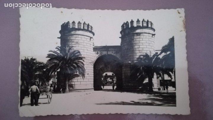 POSTAL BADAJOZ, PUERTA DE PALMA (Postales - España - Extremadura Moderna (desde 1940))