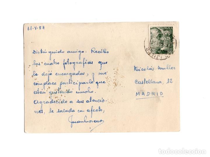 Postales: TRUJILLO.(CÁCERES).- PLAZA MAYOR.- TEJIDOS BENJAMIN. - Foto 2 - 174578033