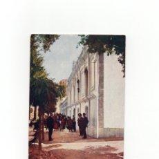 Postales: BAÑOS DE MONTEMAYOR.(CÁCERES).- PERFIL DE LAS FACHADAS DEL BALNEARIO - IMP. ALEMAN. Lote 175158043