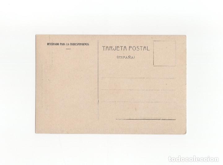Postales: BAÑOS DE MONTEMAYOR.(CÁCERES).- PERFIL DE LAS FACHADAS DEL BALNEARIO - IMP. ALEMAN - Foto 2 - 175158043