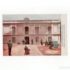 Postales: BAÑOS DE MONTEMAYOR.(CÁCERES).- FACHADA DE FRENTE DEL ANTIGUO BALNEARIO.. Lote 175158089