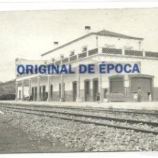 Postales: (PS-61664)POSTAL FOTOGRAFICA DE JEREZ DE LOS CABALLEROS-ESTACION DE FERROCARRIL. Lote 175333959