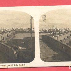 Postales: VISTAS ESTEREOSCOPICAS DE ESPAÑA, BADAJOZ- Nº 1, VISTA PARCIAL DE LA CIUDAD, VER FOTOS. Lote 175863673