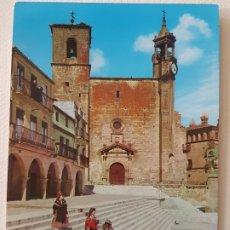 Postales: TRUJILLO CACERES PLAZA POSTAL. Lote 176098060