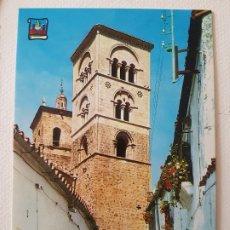 Postales: TRUJILLO CACERES TORRE ROMANICA POSTAL. Lote 176098219