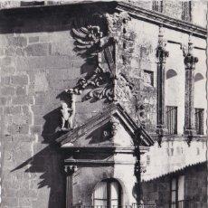 Postales: TRUJILLO (CACERES) - BALCON DEL PALACION DEL DUQUE DE SAN CARLOS. Lote 176791682