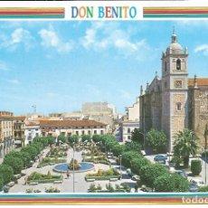 Postales: [POSTAL] PLAZA DE ESPAÑA. DON BENITO (BADAJOZ) (SIN CIRCULAR). Lote 177816574