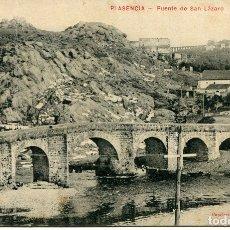 Postales: PLASENCIA-PUENTE DE SAN LAZARO-HONTIVEROS. Lote 177971052