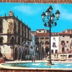 Postales: TRUJILLO - CACERES - PALACIO DEL MARQUES DE LA CONQUISTA. Lote 177985543