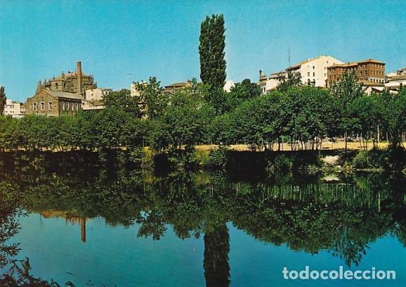 CACERES PLASENCIA VISTA DELRIO CON LA CATEDRAL ED. FITER Nº 7034 AÑO 1966 (Postales - España - Extremadura Moderna (desde 1940))
