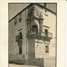 Postales: TRUJÍLLO-BALCÓN PALACIO MARQUES DE SOFRAGA- AÑO 1929 FOTOGRÁFICA MUY RARA. Lote 178571686