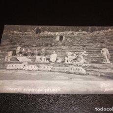Postales: TARJETA POSTAL FOTOGRAFICA DE MERIDA BADAJOZ - TEATRO ROMANO - FOTO BOCCÓNI. Lote 178656531