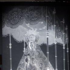 Postales: ANTIGUO CLICHÉ DE NUESTRA SEÑORA DE LA LUZ ARROYO DE LA LUZ CACERES NEGATIVO EN CRISTAL . Lote 182130720