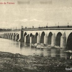 Postales: BADAJOZ. PUENTE DE PALMAS. THOMAS. Lote 182596562