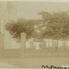 Postales: ZAFRA. UN ASPECTO DE LA PLAZA PRIMO DE RIBERA. FOTO MENDOZA. MIRAR MATASELLOS EN EL REVERSO. POSTAL. Lote 182597176