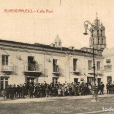 Postales: ALMENDRALEJO. (BADAJOZ) CALLE REAL. FOT. L. SAUS VANDERMAN. Lote 182597376