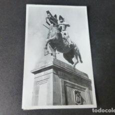 Postales: TRUJILLO CACERES ESTATUA DE PIZARRO FOT. JAVIER. Lote 182946082