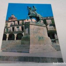 Postales: CÁCERES - POSTAL TRUJILLO - MONUMENTO A PIZARRO. Lote 183007081