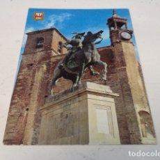 Postales: CÁCERES - POSTAL TRUJILLO - MONUMENTO A PIZARRO. Lote 183007242