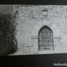 Postales: TRUJILLO CACERES PORTADA SIGLO XV DEL SOLAR DEL LINAJE DE LOS PIZARROS-HINOJOSAS EN LA PLAZUELA DEL . Lote 183064407