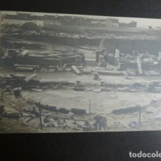 Postales: MERIDA BADAJOZ TEATRO ROMANO POSTAL FOTOGRAFICA M. BOCCONI HACIA 1915. Lote 183064517