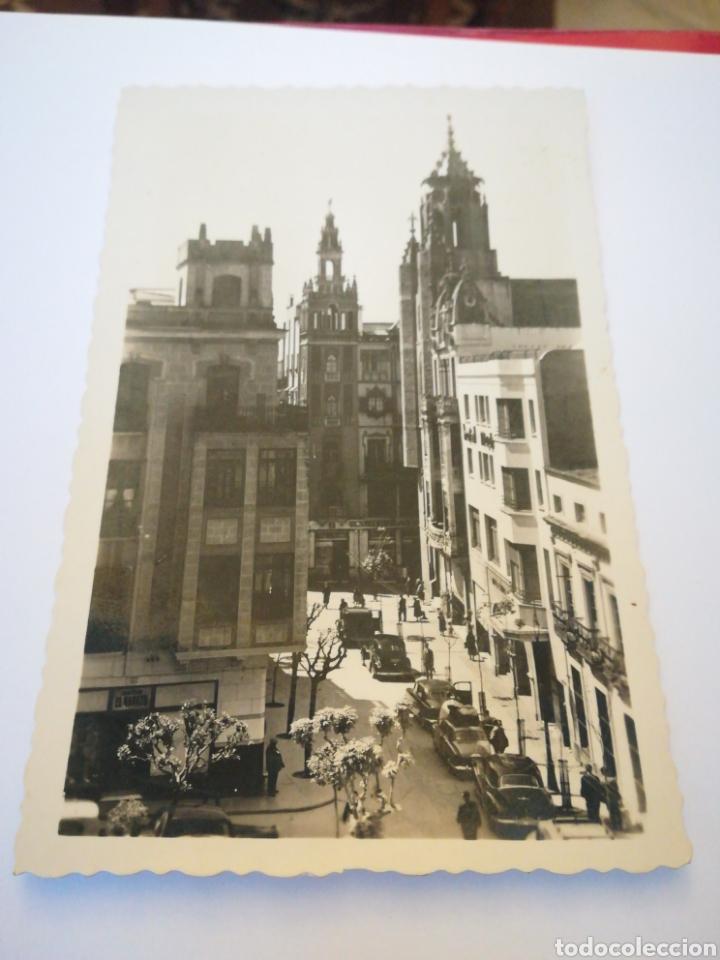 HOTEL MADRID EN LA PLAZA DE LA SOLEDAD (BADAJOZ). MUY RARA. (Postales - España - Extremadura Antigua (hasta 1939))