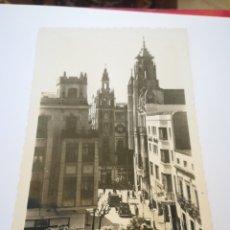 Postales: HOTEL MADRID EN LA PLAZA DE LA SOLEDAD (BADAJOZ). MUY RARA.. Lote 183173322
