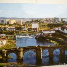 Postales: POSTAL PLASENCIA PUENTE ROMANO VISTA PARCIAL ESCRITA. Lote 183330673