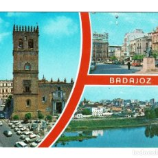 Postales: BADAJOZ VARIOS ASPECTOS DE LA CIUDAD - EDICIONES ARRIBAS Nº 78 - NO CIRUCULADA. Lote 183331582