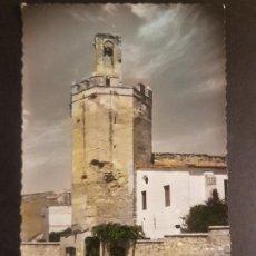 Postales: BADAJOZ TORRE DE ESPANTAPERROS GARCIA GARRABELLA Nº 27 COLOREADA. Lote 183707427